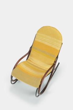 Paul Tuttle Nonna rocking chair Paul Tuttle 70s - 1537923