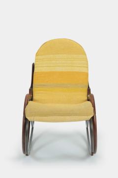 Paul Tuttle Nonna rocking chair Paul Tuttle 70s - 1537924