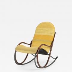 Paul Tuttle Nonna rocking chair Paul Tuttle 70s - 1538779