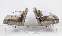 Paul Tuttle Paul Tuttle Arco Lounge Chairs - 1036263