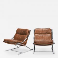 Paul Tuttle Set with 2 Zeta Chairs Paul Tuttle Str ssle 70s - 1705531
