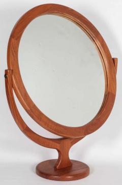 Pederson Hansen Danish Teak Vanity Cheval Mirror - 1165830