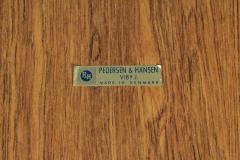 Pederson Hansen Danish Teak Vanity Cheval Mirror - 1165832