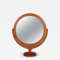 Pederson Hansen Danish Teak Vanity Cheval Mirror - 1165972