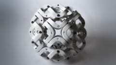 Pedro Cerisola SPHERE 32 from CUMULOS series geometric sculpture - 947918