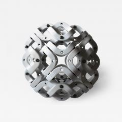Pedro Cerisola SPHERE 32 from CUMULOS series geometric sculpture - 981465