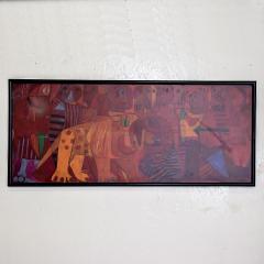 Pedro Coronel Pedro Coronel Mix Media Lithograph Mexican Modernist - 1076199