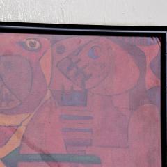 Pedro Coronel Pedro Coronel Mix Media Lithograph Mexican Modernist - 1076200