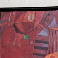 Pedro Coronel Pedro Coronel Mix Media Lithograph Mexican Modernist - 1076202