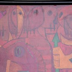 Pedro Coronel Pedro Coronel Mix Media Lithograph Mexican Modernist - 1076205