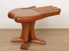Pedro Friedeberg Mexican Surrealist Side Table by Pedro Friedeberg - 1307803