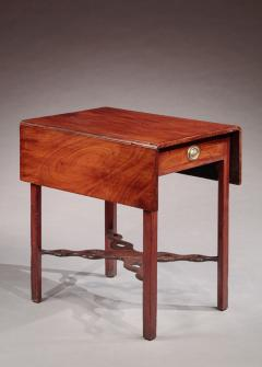 Pembroke Table with a Pierced Cross Stretcher - 477873