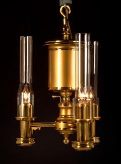 Pendant 3 Light Argand Lamp   55169