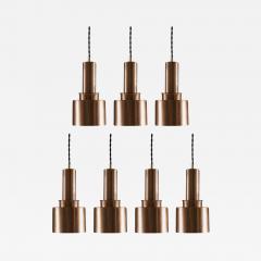 Pendants T292 in Copper by Hans Agne Jakobsson - 901540