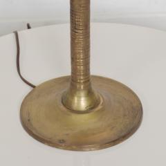 Pepe Mendoza Exquisite Pepe Mendoza PALM Tree Table Lamp in Bronze Malachite 1950s MEXICO - 1536698