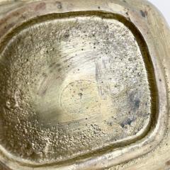 Pepe Mendoza Pepe Mendoza Brass Malachite Decorative Dish ASHTRAY 1958 Mexico - 2034284