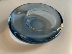 Per L tken Danish Glass Ovoid Bowl by Per L tken for Holmegaard 1960s - 1945715