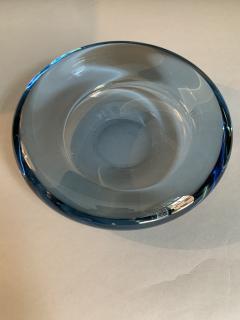 Per L tken Danish Glass Ovoid Bowl by Per L tken for Holmegaard 1960s - 1945718