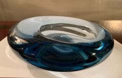 Per L tken Danish Glass Ovoid Bowl by Per L tken for Holmegaard 1960s - 1945720