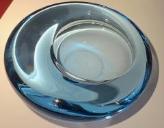 Per L tken Danish Glass Ovoid Bowl by Per L tken for Holmegaard 1960s - 1945724