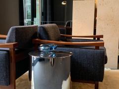 Per L tken Danish Glass Ovoid Bowl by Per L tken for Holmegaard 1960s - 1945727