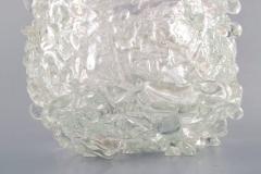 Per L tken Unique glass bowl in clear art glass - 1329957