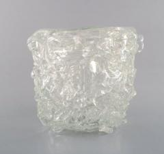 Per L tken Unique glass bowl in clear art glass - 1329963
