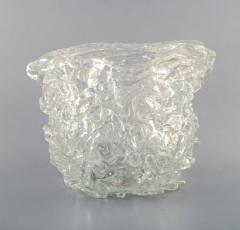 Per L tken Unique glass bowl in clear art glass - 1329971