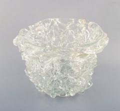 Per L tken Unique glass bowl in clear art glass - 1329972