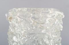 Per L tken Unique glass bowl in clear art glass - 1329974