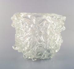 Per L tken Unique glass bowl in clear art glass - 1329976