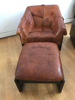Percival Lafer Late 1960s Rare Armchair and Foot Stool - 576290