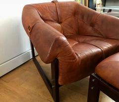 Percival Lafer Late 1960s Rare Armchair and Foot Stool - 576293