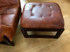 Percival Lafer Late 1960s Rare Armchair and Foot Stool - 576295