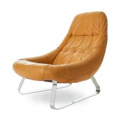 Percival Lafer Percival Lafer Earth Chrome Leather Lounge Chair - 1604506