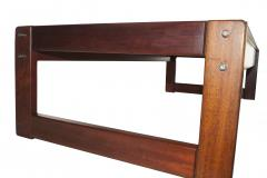 Percival Lafer Percival Lafer Rosewood Coffee Side End Table set Made in Brazil - 1929273