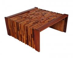 Percival Lafer Small Scale Mid Century Modern Exotic Wood Coffee Tables by Percival Lafer - 1738714