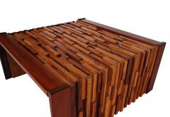 Percival Lafer Small Scale Mid Century Modern Exotic Wood Coffee Tables by Percival Lafer - 1738715
