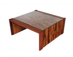 Percival Lafer Small Scale Mid Century Modern Exotic Wood Coffee Tables by Percival Lafer - 1738716