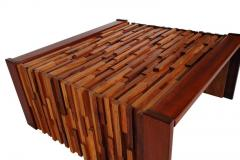 Percival Lafer Small Scale Mid Century Modern Exotic Wood Coffee Tables by Percival Lafer - 1738717