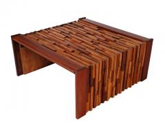 Percival Lafer Small Scale Mid Century Modern Exotic Wood Coffee Tables by Percival Lafer - 1738718
