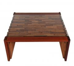 Percival Lafer Small Scale Mid Century Modern Exotic Wood Coffee Tables by Percival Lafer - 1738730