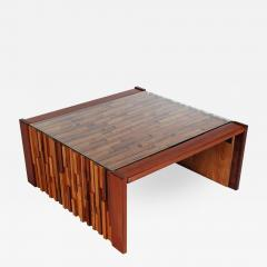 Percival Lafer Small Scale Mid Century Modern Exotic Wood Coffee Tables by Percival Lafer - 1741305