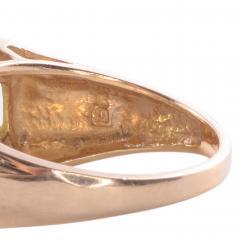 Peridot Diamond 14K Ring - 2080704