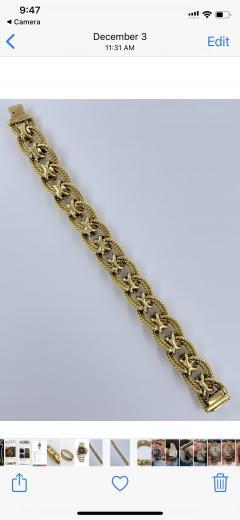 Peridot Diamond Bracelet - 1768088
