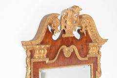 Period George II Pier Glass with Bookmatched Walnut Veneers - 2006848