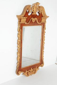 Period George II Pier Glass with Bookmatched Walnut Veneers - 2006850