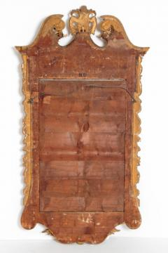 Period George II Pier Glass with Bookmatched Walnut Veneers - 2006851