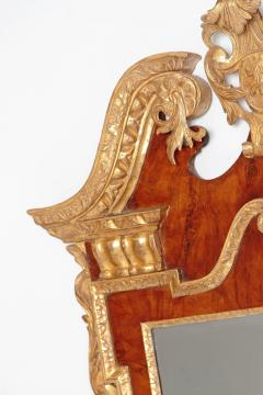 Period George II Pier Glass with Bookmatched Walnut Veneers - 2006852