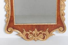 Period George II Pier Glass with Bookmatched Walnut Veneers - 2006855